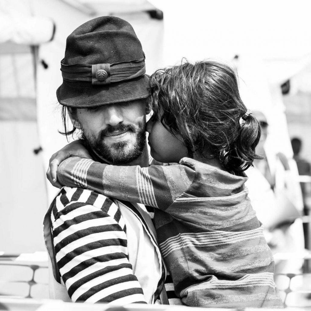 Guillaume Vermette Clown Humanitaire Grèce