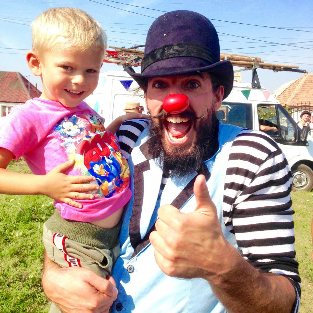 Guillaume Vermette Clown Humanitaire Roumanie