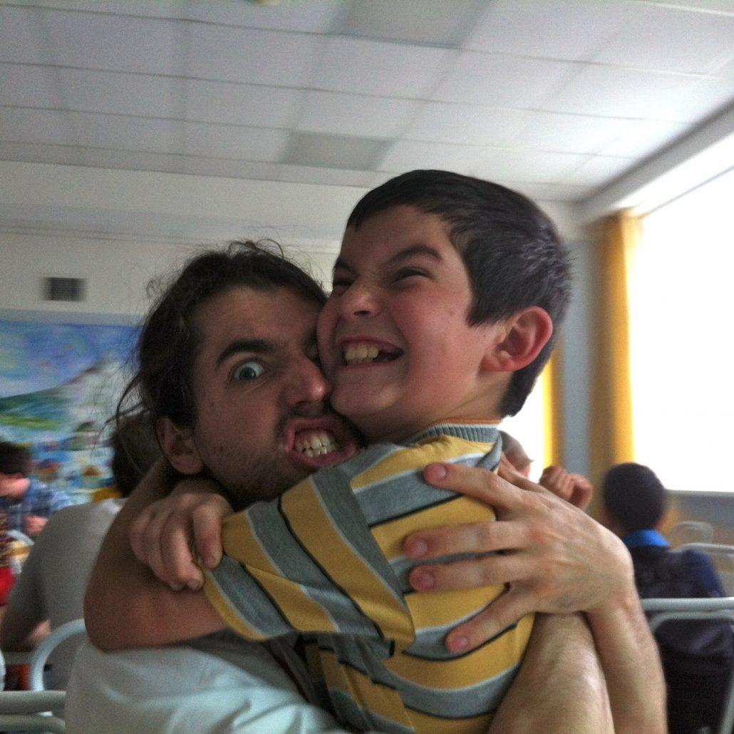 Guillaume Vermette Clown Humanitaire Ruslan (Beslan) - enfant