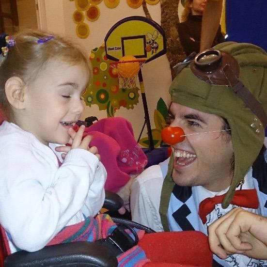Guillaume Vermette Clown Humanitaire Russie hôpital enfant