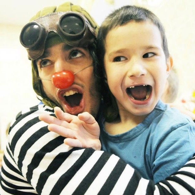 Guillaume Vermette Clown Humanitaire Russie orphelinat