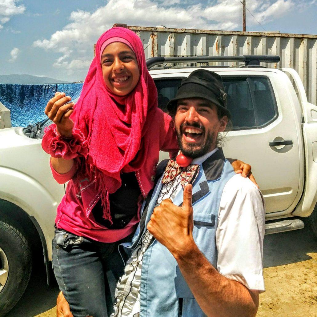 Guillaume Vermette Clown Humanitaire réfugiés