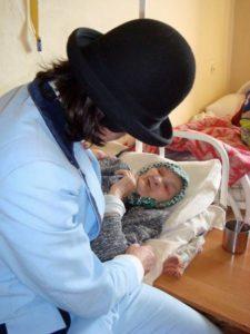 Russie, centre pour personnes âgées