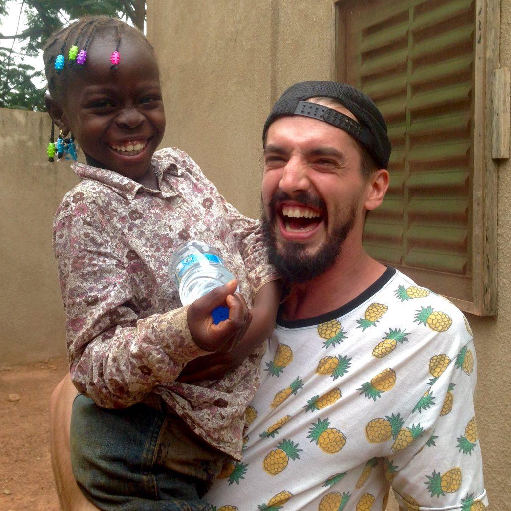 Guillaume Vermette Clown Humanitaire Burkina Faso Ougadougou