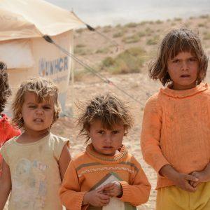 Guillaume Vermette Clown Humanitaire Jordanie, camps de réfugiés syriens
