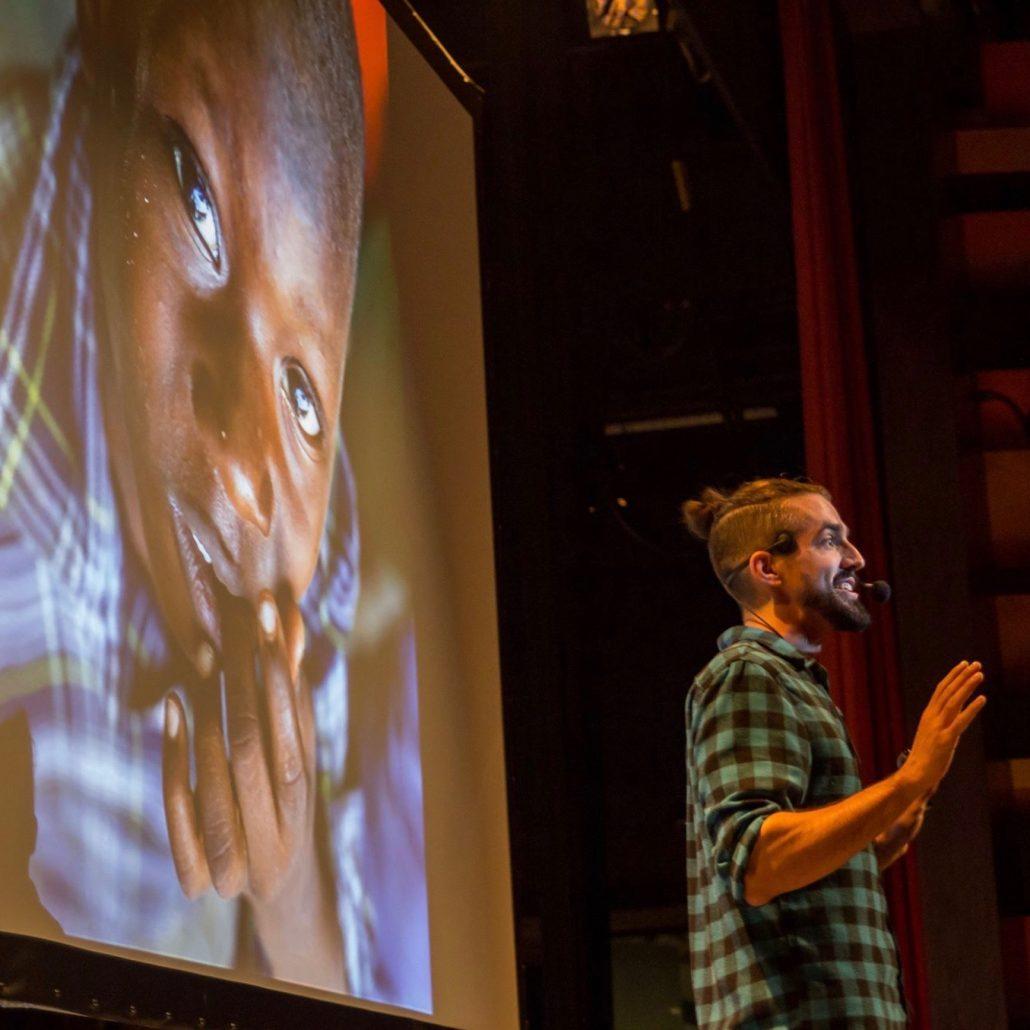 Guillaume Vermette Clown Humanitaire conférence Trois-Rivières