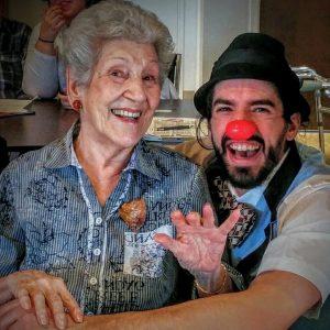 Guillaume Vermette Clown Humanitaire personnes âgées