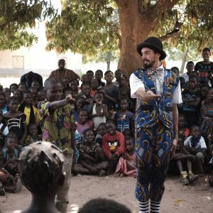 Guillaume Vermette clown humanitaire Burkina Faso gazou